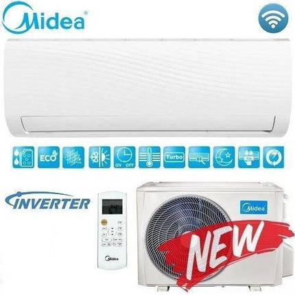 Кондиционер- Midea Forest Inverter New 2018 (-15°C) MSAFCU-18HRDN1, фото 2