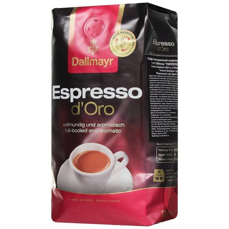 Кофе Dallmayr Espresso d'Oro (500 г) в зернах