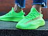 "Кроссовки женские Adidas Yeezy 350 Boost V2 ""Glow"" (Размер: 41), фото 5"