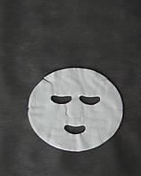 Маски-серветки косметологічні Doily (50 шт\пач) з спанлейса 500 ШТ 10 УП Сітка Білі