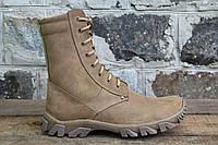 Тактичне взуття, берци чоловічі з натуральної шкіри ОС БЕЖ ЕНЕРДЖИ