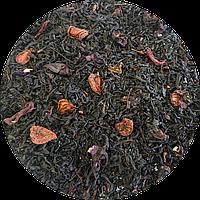 Чёрный чай Клубника со сливками