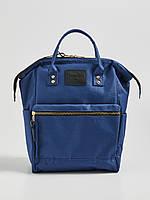 Синий рюкзак с ручками