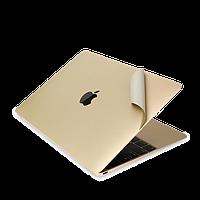 """Защитная пленка для MacBook Pro 13.3 """" 2 в 1 для корпуса золото"""
