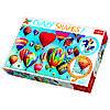 Пазл  Цветные воздушные шары, 600 элементов, Trefl