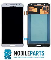 Дисплей для Samsung J701 Galaxy J7 Neo (2017) с сенсорным стеклом (Белый) TFT подсветка оригинал