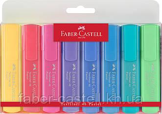 Набор маркеров Faber-Castell Textliner Pastel  8 пастельных цветов , 154609