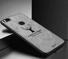 Чехол Deer для Xiaomi Mi 8 Lite с джинсовым покрытием (3 Цвета)