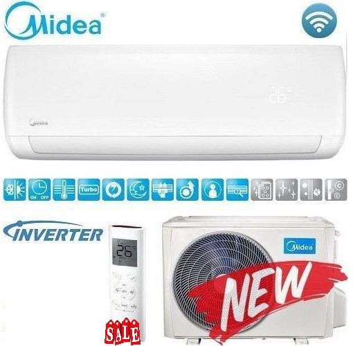 Кондиционер- Midea Mission Inverter (-20°C) MSMB-12HRFN1-Q ION