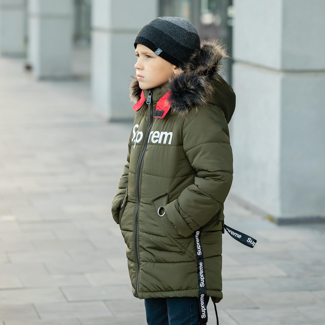 """Детская зимняя куртка  для мальчика """"Cуприм"""" , фото 2"""