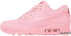 Женские кроссовки Nike Air Max 90 Diamondback QS SHANGHAI 813152-600, Найк Аир Макс 90