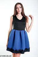 Симпатичное кукольное платье с кружевной кромкой на пышной юбке  Sharon