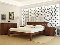 """Кровать деревянная TM """"YASON"""" Tokyo Серый (Массив Ольхи либо Ясеня), фото 1"""