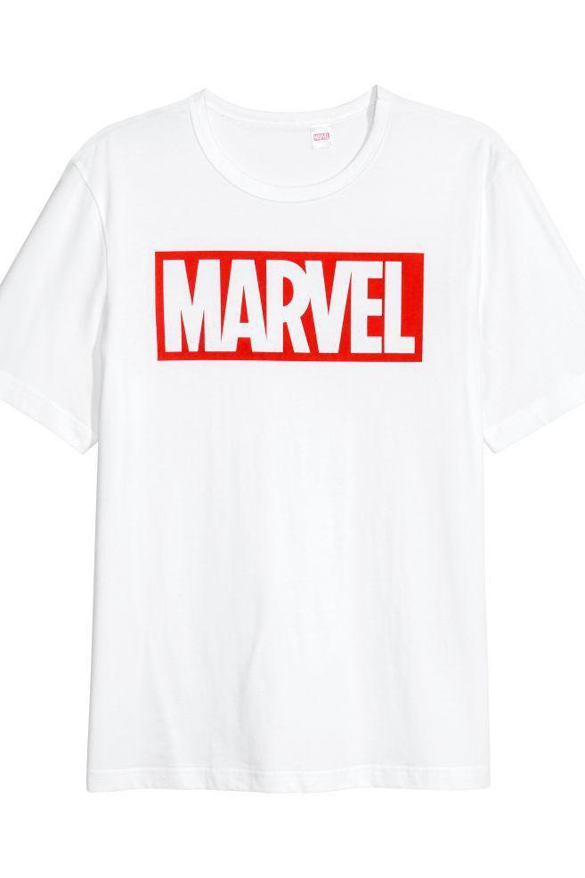 """Мужская футболка с надписью """"Marvel"""" Push IT"""