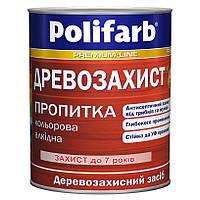 Пропитка для дерева Polifarb Древозахист алкидная 0,7 кг