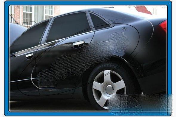 Нижние молдинги стекол (4 шт., нерж) Audi A4 B7 2004-2008 гг.