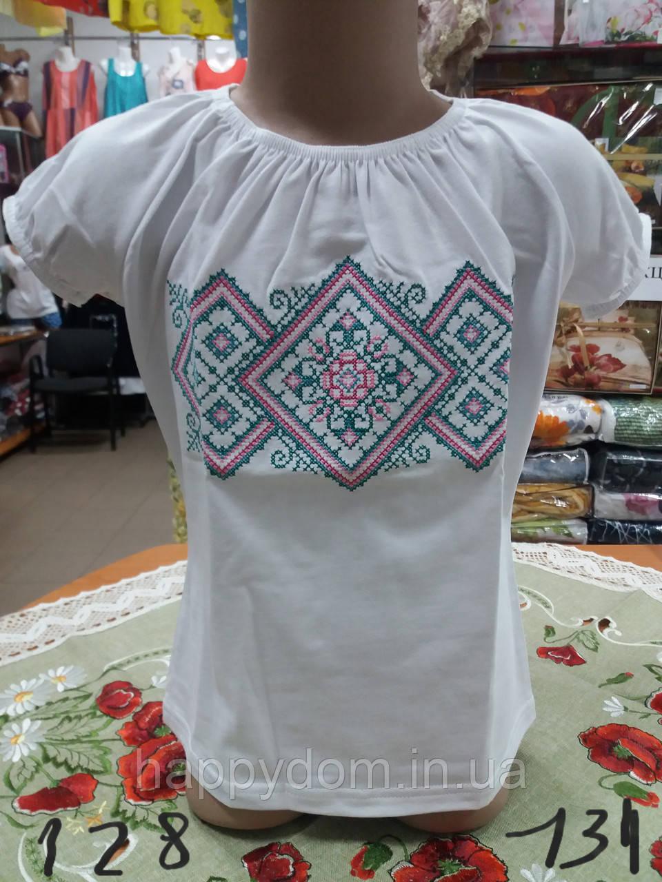 Вышиванка футболка для девочки