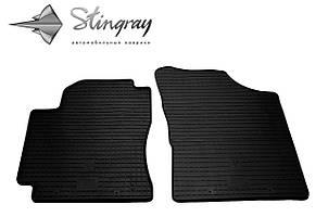 Geely CK 2006- Комплект из 2-х ковриков Черный в салон