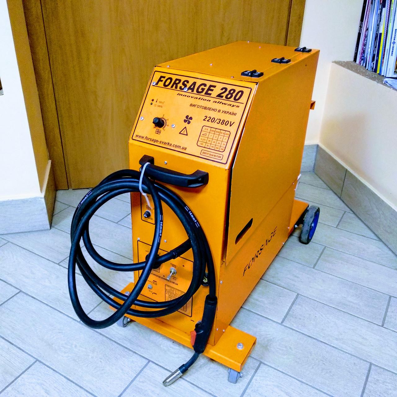 Сварочный полуавтомат Forsage Professional-280A (220/380V)