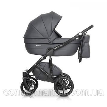 Детская коляска 2 в 1 Riko Naturo Ecco 04 Antracite
