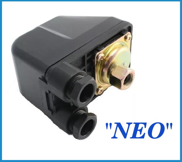 Peле давления *Neo* с накидной гайкой MP-5