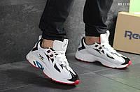 Мужские кроссовки Reebok Dmx (белые)