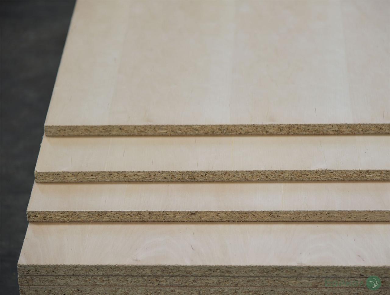 ДСП шпонована плита Вільхою 19 мм А, B, 2,80х2,07 м