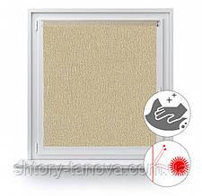 Рулонные шторы с металлизированным покрытием Люминис 903