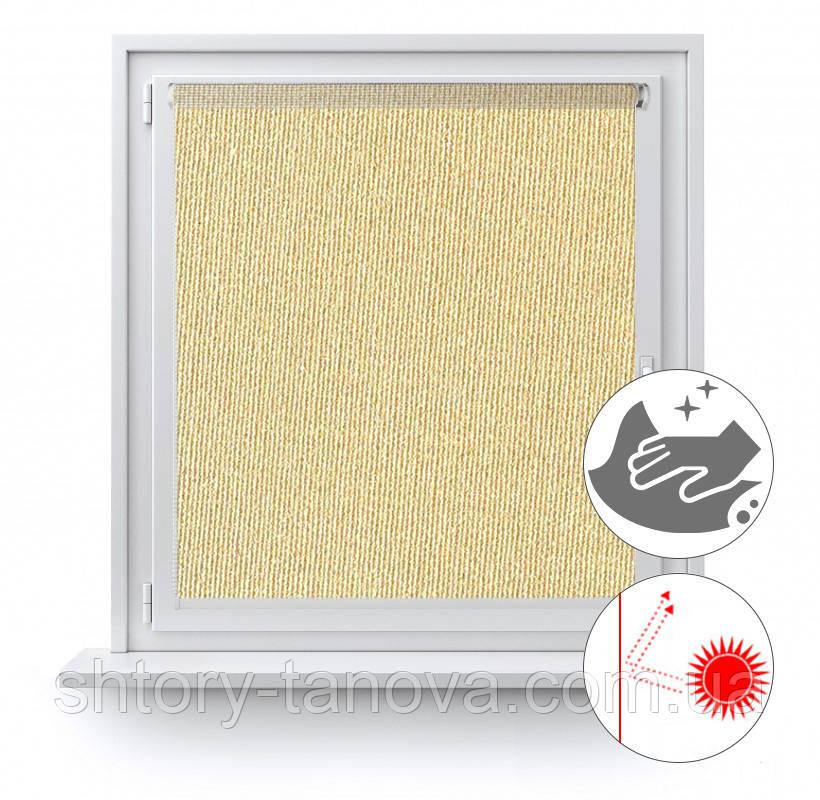 Рулонные шторы с жемчужным покрытием Люминис 905
