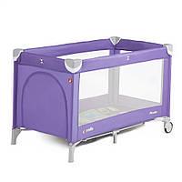 Манеж CARRELLO Piccolo CRL-9203 Spring Purple /1/ MOQ