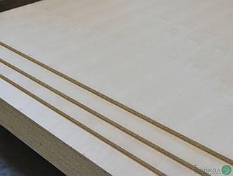 ДСП плита шпонована Вільхою 17 мм А, B, 2,80х2,07 м