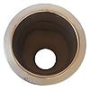 Труба-сэндвич дымоходная D-150/220 мм S-0,8 мм L-1 метр AISI 321 нержавейка/оцинковка - «Stalar», фото 4
