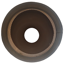 Труба-сэндвич дымоходная D-150/220 мм S-0,8 мм L-1 метр AISI 321 нержавейка/оцинковка - «Stalar», фото 2