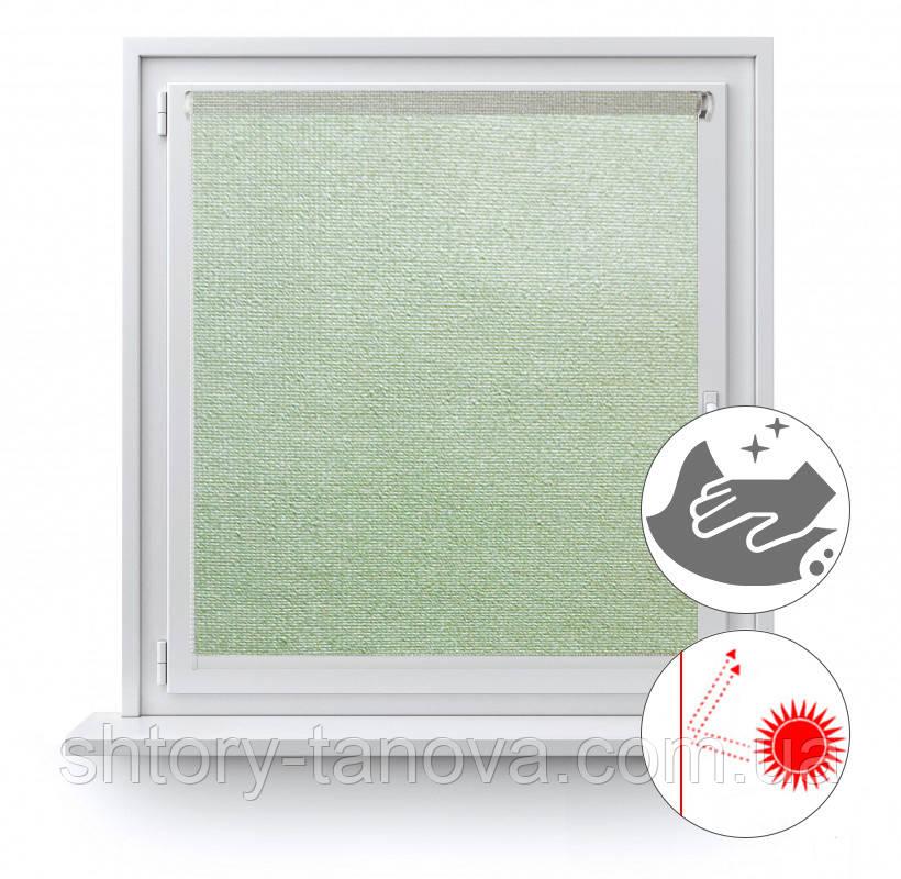 Рулонные шторы с перламутровым блеском Люминис 918