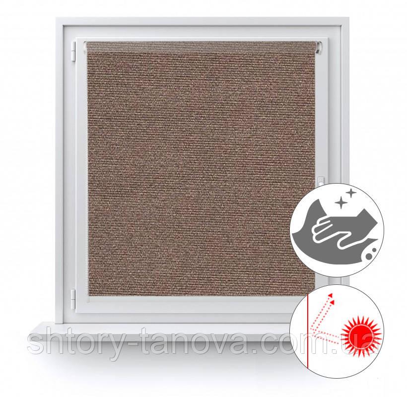 Рулонні штори з перловим покриттям Люмінис 925