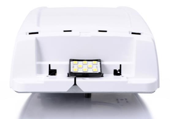 Яркая встроенная светодиодная подсветка для длительного срока службы без необходимости в замене лампочки