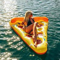 Матрас надувной для плавания Пицца (для пляжа и бассейна) Размер 183 х 90 см, фото 1
