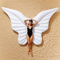 Надувной матрас Крылья Ангела, белые