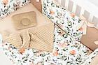 Комплект постільної білизни Asik з цифровою печаткою Козулі з гілочками (5-336), фото 7