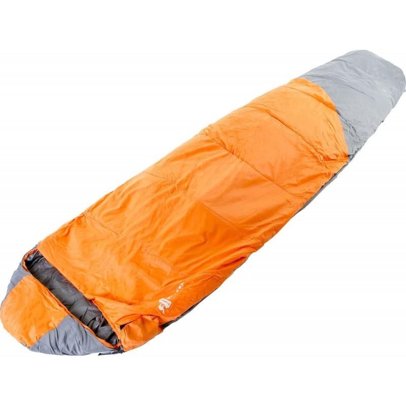 Спальный мешок Tramp Mersey TRS-038-R (Оранжевый/серый) R