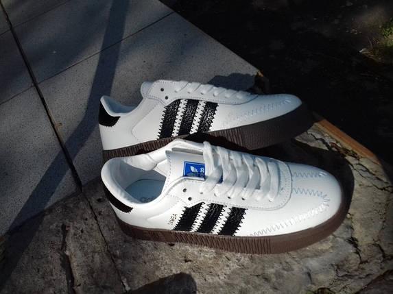 Кеды женские Adidas Samba, фото 2