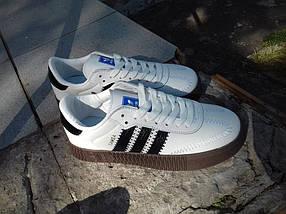 Кеды женские Adidas Samba, фото 3