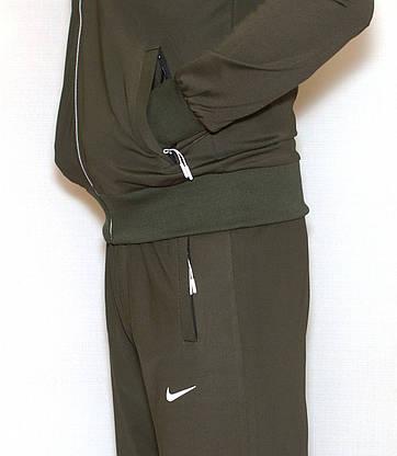 Мужской спортивный костюм эластик NIKE (копия) XL, фото 2