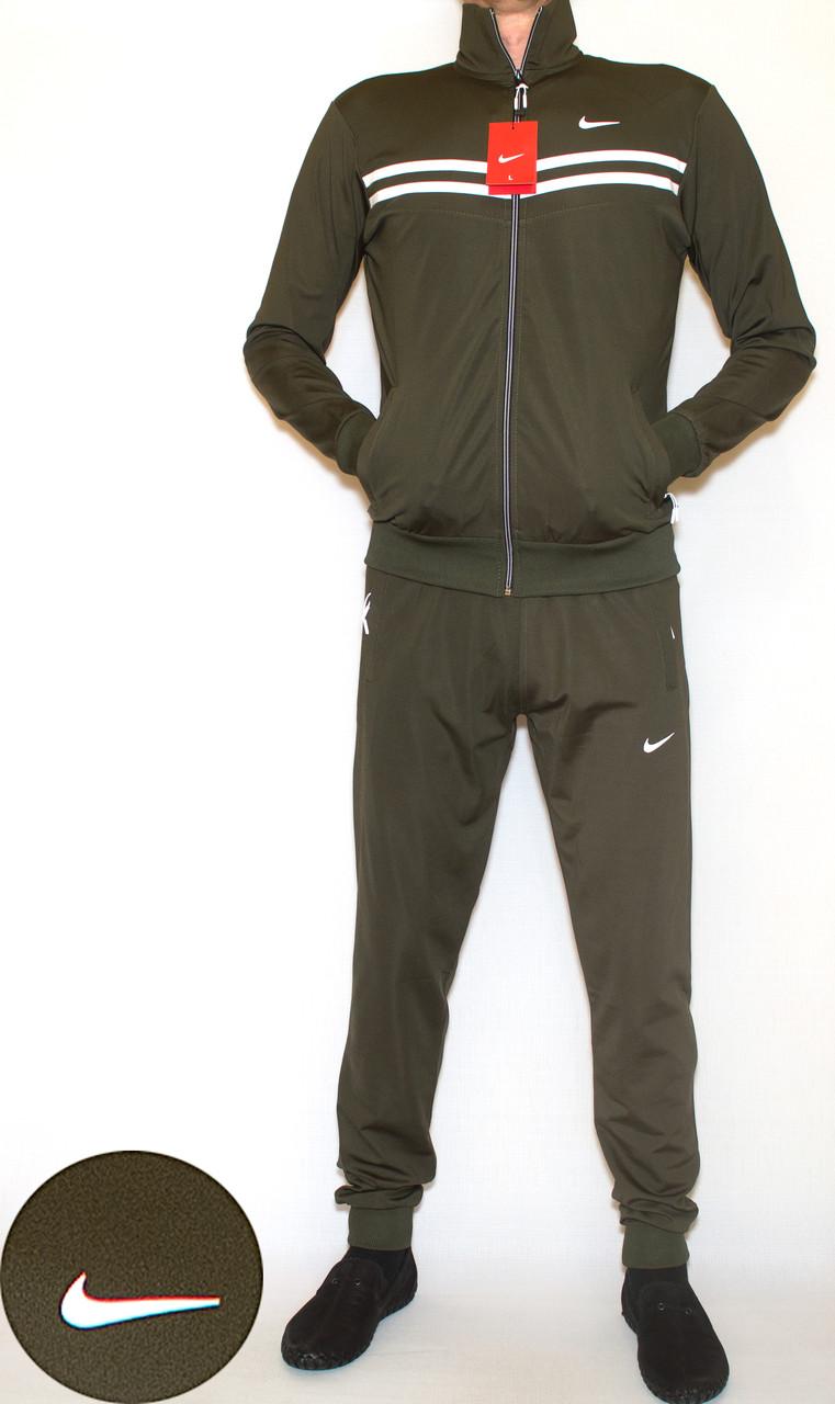 Мужской спортивный костюм эластик NIKE (копия) XL