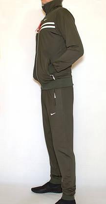 Мужской спортивный костюм эластик NIKE (копия) XL, фото 3
