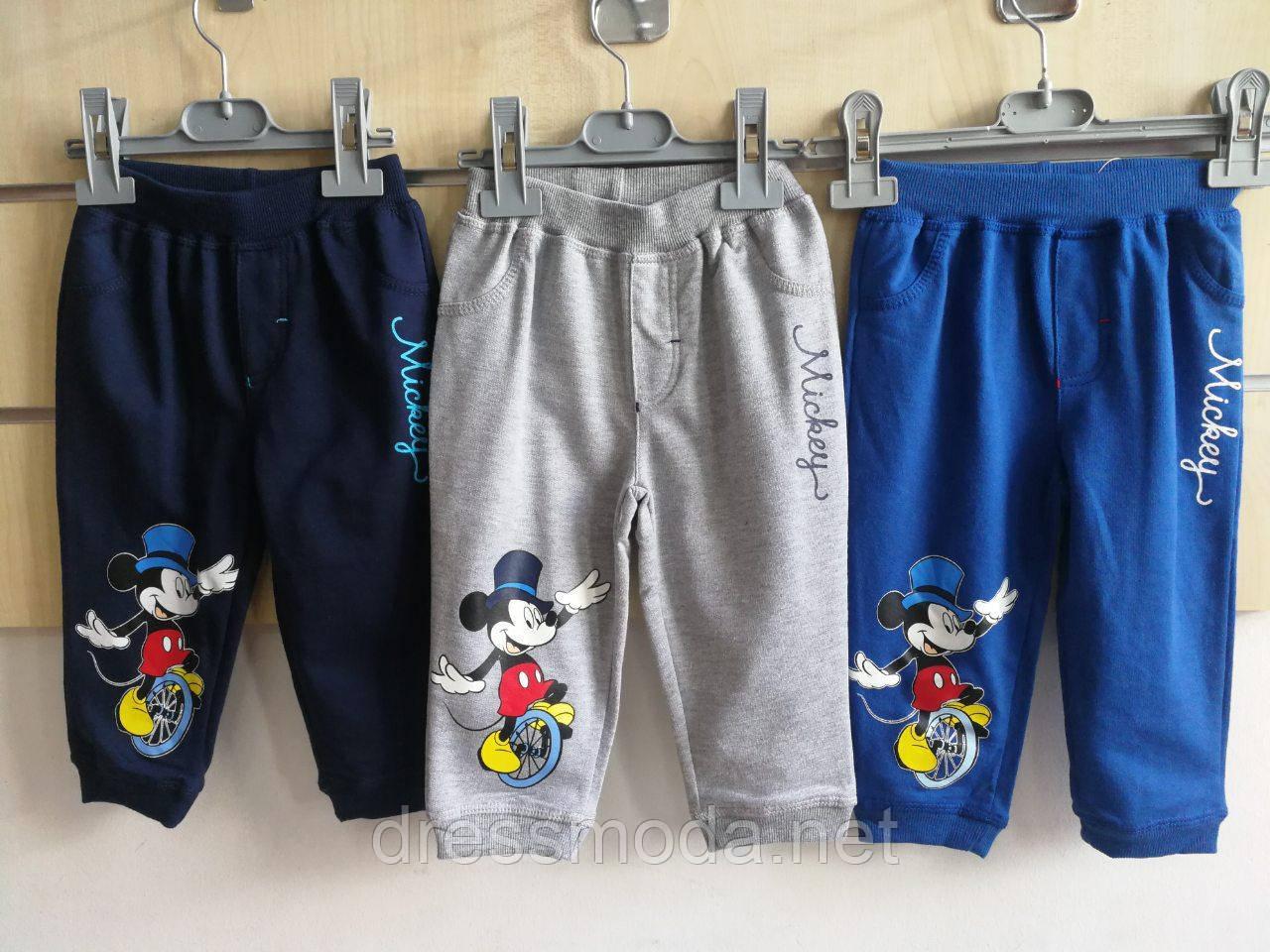 Спортивные штанишки для мальчиков   Mickey 68-86 мес.