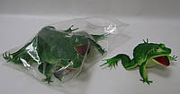 Лягушка резиновая 18 см 4шт в пакете /60уп/240шт/(H89W)