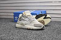 Мужские кроссовки  Adidas Nite Jogger (бежевые)