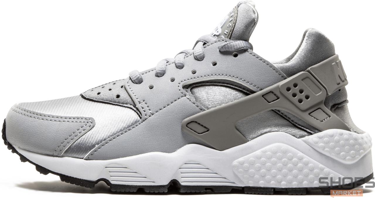 Женские кроссовки Nike Air Huarache Wolf Grey 634835-004, Найк Аир Хуарачи