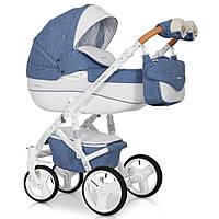 Детская коляска 2 в 1 Riko Brano Luxe 04 Denim